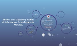 Sistema para la gestión y análisis de información  de Inteli