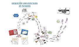 Deserción Universitaria en Panama