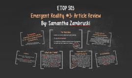 ETOP 503