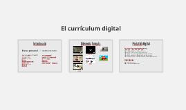 El currículum digital