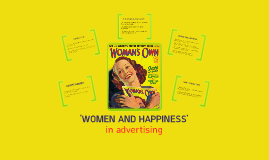 'Women and Happiness' Oral