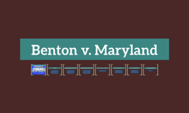 Benton v. Maryland
