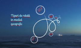 Copy of Tipuri de relatii in mediul geografic