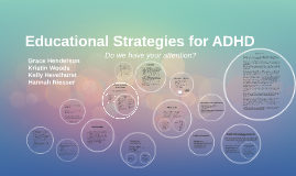 Educational Strategies for ADHD