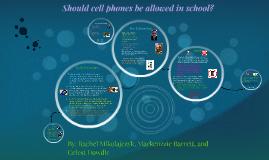 Should cell phones be aloud in school?