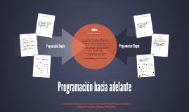 Programación hacia adelante