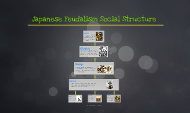 Japanese Feudalism Social Structure