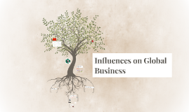 Influences of Global Busines