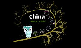 China - english project