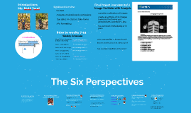 1022: Intro and the Six Perspectives Review