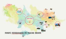 Copy of ¿Donde viajar?
