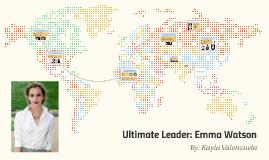 Ultimate Leader: Emma Watson