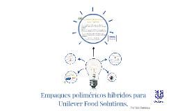 Empaques poliméricos híbridos para Unilever