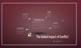 The Global Impact of Conflict