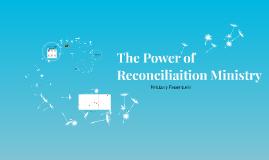 Reconciliation Ministry in Rwanda