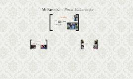 Mi Familia    -Allison Mahurin p.1