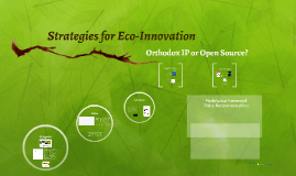 Strategies for Eco-Innovation