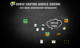 Snow Canyon middle school