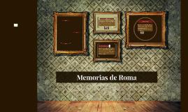 Memorias de Roma