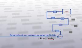Desarrollo de un Microprocesador 16 bits