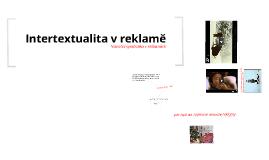 Intertextualita v reklamě