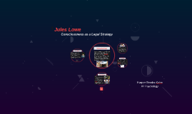 Legal Project: Jules Lowe