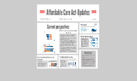 Affordable Care Act-Updates