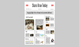 Newspaper for the Skara Brae thing