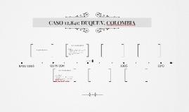 CASO 12,841: DUQUE V. COLOMBIA