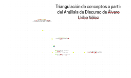 Triangulación de conceptos a partir del Análisis de Discurso