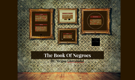 Copy of The Book Of Negroes