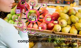 orientacion del estado del comportamiento, compra del consum