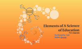 Elements of A Science of Education