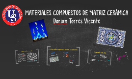 Copy of Materiales Compuestos de Matriz Cerámica