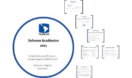 Informe Académico 2014