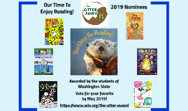 OTTER Award 2019 Nominees