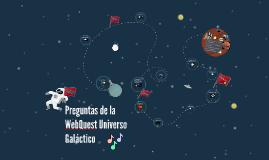 Preguntas de la WebQuest Universo Galáctico