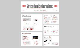 Strukturbereiche Journalismus