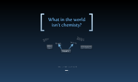 What in the world isn't chemistry?