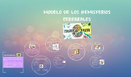 MODELO DE LOS HEMISFERIOS CEREBRALES