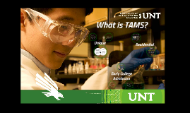 Copy of What is TAMS- Educator Edition