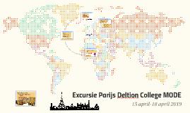 Excursie Parijs Deltion College MODE