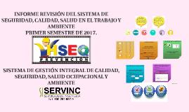 1 SEMESTRE DE  2017 INFORME DE REVISIÓN GERENCIAL