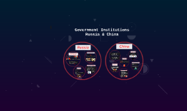 Government Institutions Russia & China