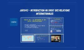 JUR1042 - Droit international public