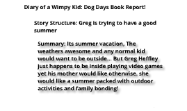 Diary of a wimpy kid 5 summary