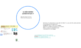 2. DECODING GENERATION Y