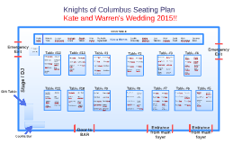 Copy of Knights of Columbus Seating Plan