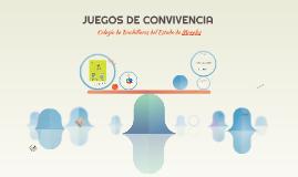 JUEGOS DE CONVIVENCIA