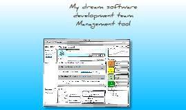 My Dream Team Dev Management tool